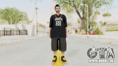 GTA 5 Online Male Skin 2 pour GTA San Andreas deuxième écran