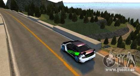 Monument Hill Piste pour GTA 4 secondes d'écran