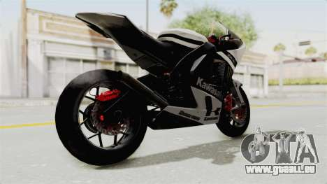 Kawasaki Ninja ZX-RR Streetrace für GTA San Andreas rechten Ansicht