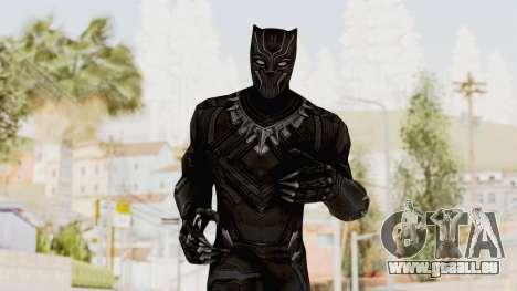 Marvel Future Fight - Black Panther (Civil War) für GTA San Andreas