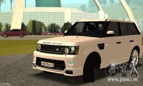 Range Rover Sport Tuning für GTA San Andreas Seitenansicht
