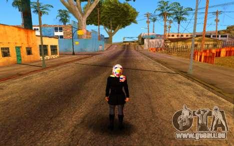 Iranian Girl pour GTA San Andreas cinquième écran