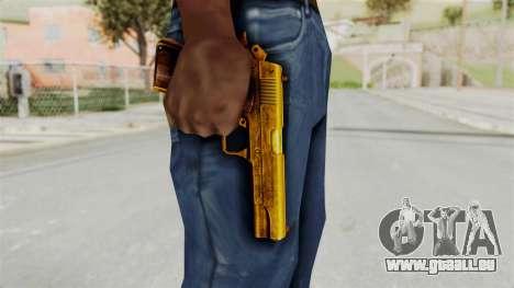 M1911 Gold pour GTA San Andreas