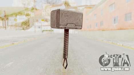 Marvel Future Fight - Mjolnir pour GTA San Andreas deuxième écran