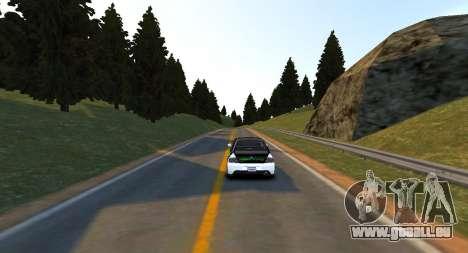 Monument Hill Piste pour GTA 4 troisième écran