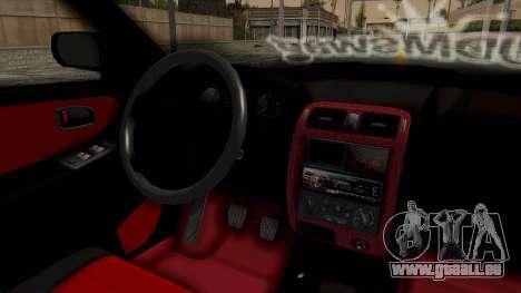 Mazda 626 Air pour GTA San Andreas vue intérieure