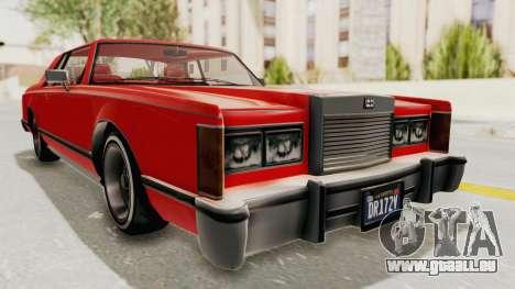 GTA 5 Dundreary Virgo Classic Custom v2 pour GTA San Andreas vue de droite