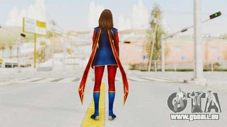 Marvel Future Fight - Kamala Khan für GTA San Andreas dritten Screenshot