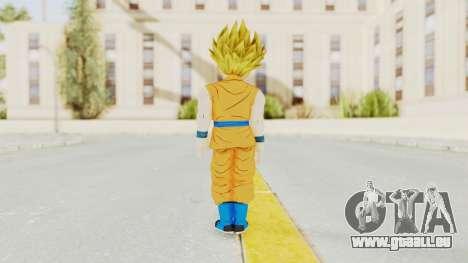 Dragon Ball Xenoverse Gohan Teen DBS SSJ2 v2 für GTA San Andreas dritten Screenshot
