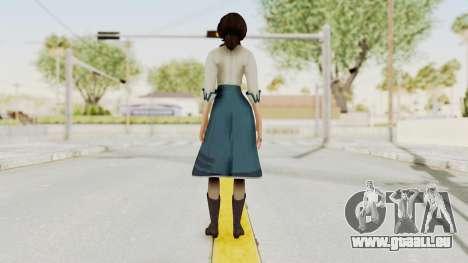 Bioshock Infinite Elizabeth Student pour GTA San Andreas troisième écran
