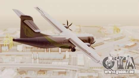 ATR 72-500 MASwings pour GTA San Andreas laissé vue