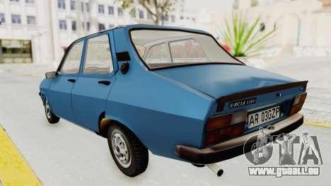 Dacia 1310 MLS 1988 Stock für GTA San Andreas zurück linke Ansicht