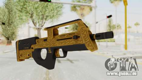 Assault SMG Lux pour GTA San Andreas