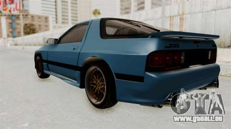 Mazda RX-7 FC3S für GTA San Andreas linke Ansicht