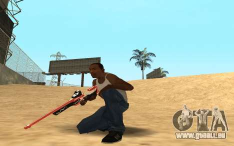 Rifle Cyrex für GTA San Andreas dritten Screenshot
