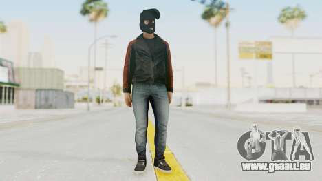 GTA 5 DLC Heist Robber pour GTA San Andreas deuxième écran