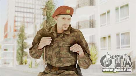 MGSV The Phantom Pain Soviet Union Commander pour GTA San Andreas