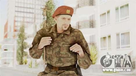 MGSV The Phantom Pain Soviet Union Commander pour GTA San Andreas