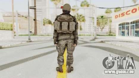 COD BO SOG Woods v2 pour GTA San Andreas troisième écran