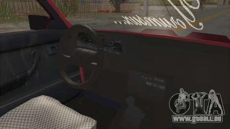 Renault Broadway pour GTA San Andreas vue intérieure