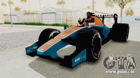Rio Haryanto 88 F1 Manor Racing für GTA San Andreas