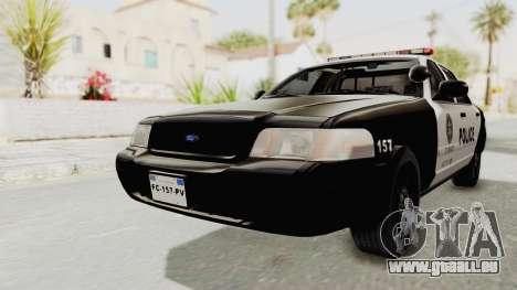 Ford Crown Victoria SFPD für GTA San Andreas