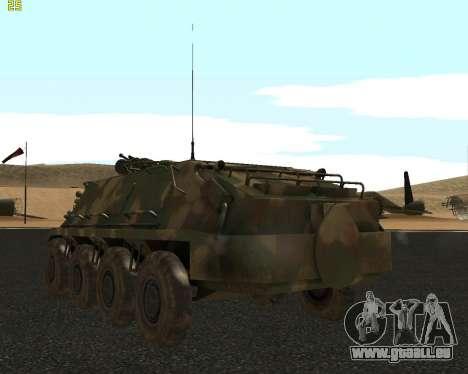 BTR 60 PA pour GTA San Andreas vue de droite