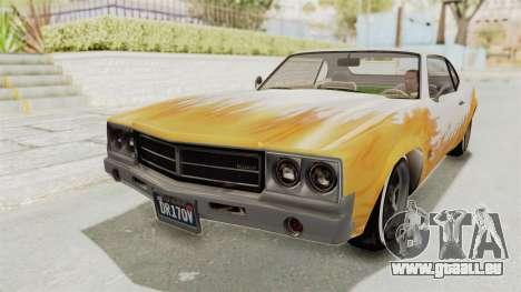 GTA 5 Declasse Sabre GT2 IVF pour GTA San Andreas vue de côté