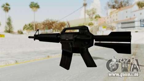 Liberty City Stories M4 pour GTA San Andreas troisième écran