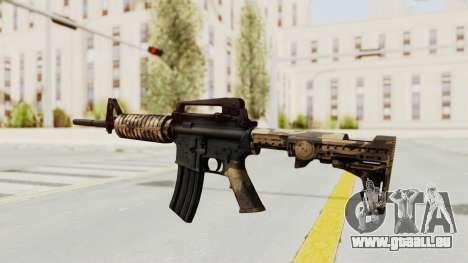HD M4 v3 pour GTA San Andreas troisième écran