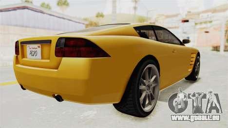 GTA 5 Ocelot F620 SA Lights für GTA San Andreas linke Ansicht