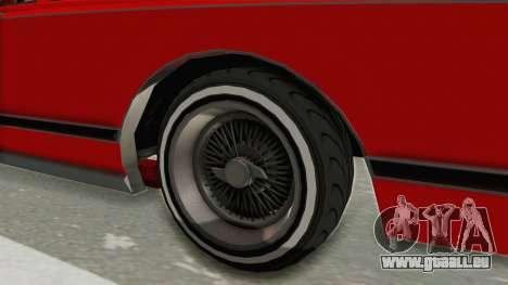 GTA 5 Dundreary Virgo Classic Custom v2 für GTA San Andreas Rückansicht
