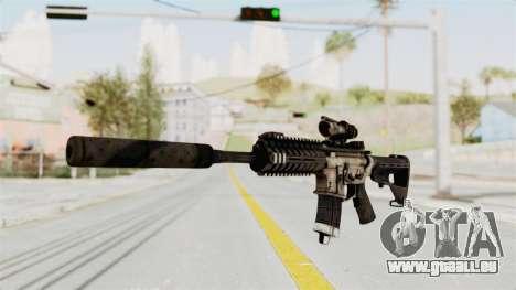 P416 Silenced pour GTA San Andreas deuxième écran