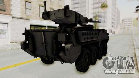 M1128 Mobile Gun System IVF pour GTA San Andreas vue de droite
