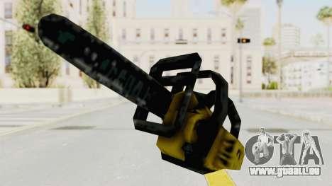 Liberty City Stories Chainsaw pour GTA San Andreas deuxième écran