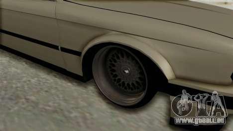 BMW M3 E30 für GTA San Andreas Rückansicht