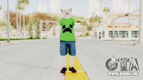 Rat Kid pour GTA San Andreas deuxième écran