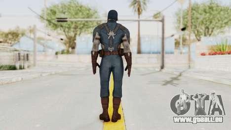 Captain America Civil War - Captain America pour GTA San Andreas troisième écran