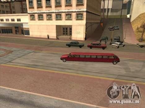VAZ 2109 17-door pour GTA San Andreas vue intérieure