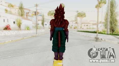 Dragon Ball Xenoverse Vegito SSJ4 für GTA San Andreas dritten Screenshot