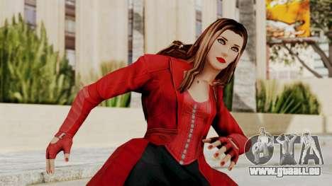 Captain America Civil War - Scarlet für GTA San Andreas