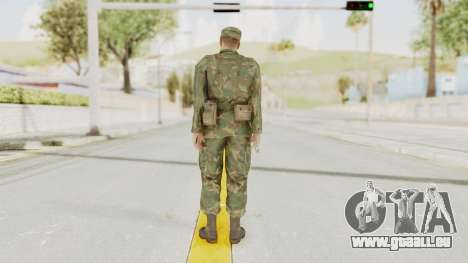 MGSV Ground Zeroes US Soldier Armed v2 für GTA San Andreas dritten Screenshot