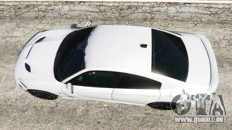 GTA 5 Dodge Charger SRT Hellcat 2015 v1.3 vue arrière