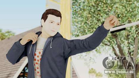Captain America Civil War - Peter Parker für GTA San Andreas