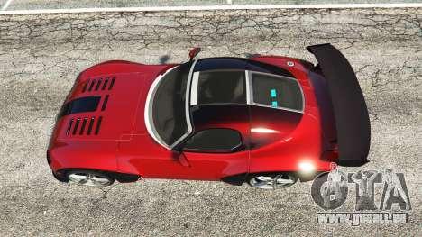 GTA 5 Devon GTX 2010 v0.2 vue arrière