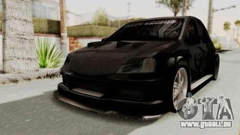Dacia Logan Loco Tuning für GTA San Andreas zurück linke Ansicht