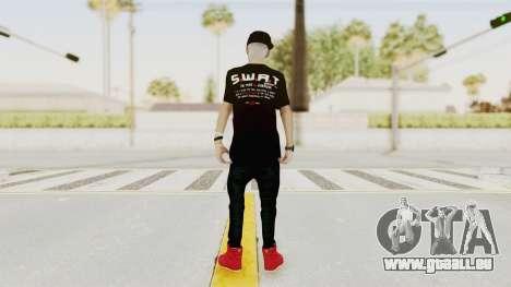 Swagger Boy Retex 1 pour GTA San Andreas troisième écran