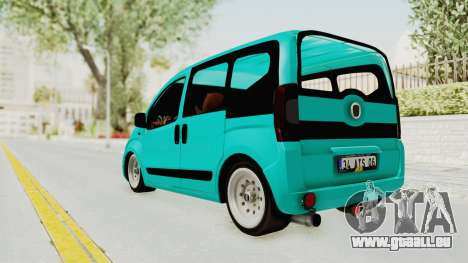 Fiat Fiorino Hellaflush v1 pour GTA San Andreas laissé vue
