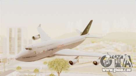 Boeing 747-400 Malaysia Airlines Tabung Haji pour GTA San Andreas