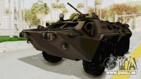BTR-80 Desert Turkey für GTA San Andreas
